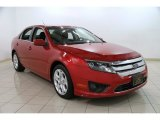 2010 Red Candy Metallic Ford Fusion SE #87569196
