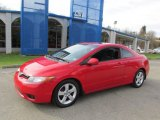 2007 Rallye Red Honda Civic EX Coupe #87568914