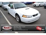 2000 Crystal White Ford Mustang GT Convertible #87568718