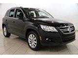 2011 Deep Black Metallic Volkswagen Tiguan SE 4Motion #87569185