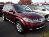 2007 Sunset Red Pearl Metallic Nissan Murano S AWD #87569367
