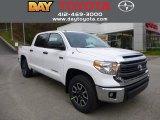 2014 Super White Toyota Tundra SR5 TRD Double Cab #87568809