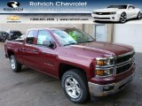2014 Deep Ruby Metallic Chevrolet Silverado 1500 LTZ Z71 Double Cab 4x4 #87569351