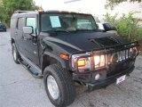 2003 Black Hummer H2 SUV #87568879