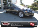 2013 Stratus Grey Metallic Jaguar XF I4 T #87569235