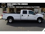 2004 Oxford White Ford F250 Super Duty XLT Crew Cab 4x4 #87568956
