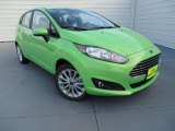 2014 Green Envy Ford Fiesta SE Hatchback #87569053