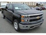 2014 Black Chevrolet Silverado 1500 LT Z71 Crew Cab 4x4 #87569228