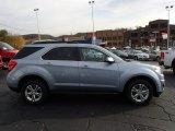 2014 Silver Topaz Metallic Chevrolet Equinox LT AWD #87568950