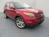 2014 Ruby Red Ford Explorer Limited #87569050