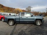 2014 Blue Granite Metallic Chevrolet Silverado 1500 LT Double Cab 4x4 #87568947