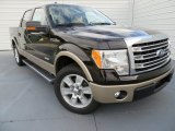 2013 Kodiak Brown Metallic Ford F150 Lariat SuperCrew #87569041