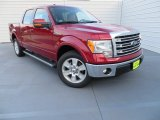 2013 Ruby Red Metallic Ford F150 Lariat SuperCrew #87569040
