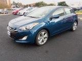 2013 Windy Sea Blue Hyundai Elantra GT #87617969
