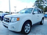 2009 White Suede Ford Escape Limited V6 #87618064