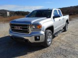 2014 Quicksilver Metallic GMC Sierra 1500 SLT Double Cab 4x4 #87618366