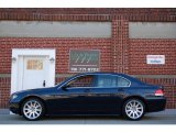 Orient Blue Metallic BMW 7 Series in 2003