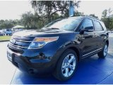 2014 Tuxedo Black Ford Explorer Limited #87618058