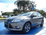 2014 Sterling Gray Ford Focus SE Sedan #87618049