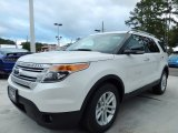 2014 White Platinum Ford Explorer XLT #87618048