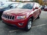 2014 Deep Cherry Red Crystal Pearl Jeep Grand Cherokee Laredo 4x4 #87617858