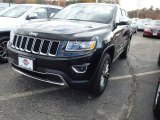 2014 Black Forest Green Pearl Jeep Grand Cherokee Limited 4x4 #87617842
