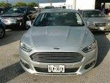 2013 Ingot Silver Metallic Ford Fusion Hybrid SE #87618034