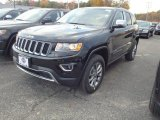 2014 Black Forest Green Pearl Jeep Grand Cherokee Limited 4x4 #87617840