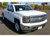 2014 Summit White Chevrolet Silverado 1500 LT Double Cab 4x4 #87618345