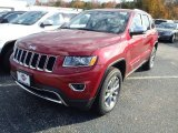 2014 Deep Cherry Red Crystal Pearl Jeep Grand Cherokee Limited 4x4 #87617839