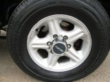 Isuzu Trooper 2002 Wheels and Tires