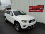2014 Bright White Jeep Grand Cherokee Limited 4x4 #87618552