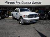 2012 Bright White Dodge Ram 1500 SLT Quad Cab 4x4 #87618551