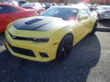 2014 Bright Yellow Chevrolet Camaro SS/RS Coupe #87617832