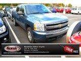 2008 Blue Granite Metallic Chevrolet Silverado 1500 LT Crew Cab 4x4 #87617820