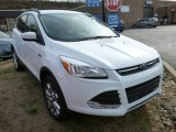 2014 Oxford White Ford Escape SE 2.0L EcoBoost 4WD #87618123