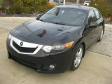 2010 Crystal Black Pearl Acura TSX Sedan #87618332