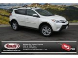 2013 Blizzard White Pearl Toyota RAV4 Limited AWD #87617798