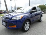 2014 Deep Impact Blue Ford Escape S #87617996