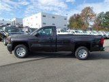 2014 Tungsten Metallic Chevrolet Silverado 1500 WT Regular Cab 4x4 #87618530