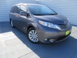 2011 Predawn Gray Mica Toyota Sienna Limited #87618204