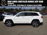 2014 Bright White Jeep Grand Cherokee Limited 4x4 #87618097