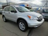 2010 Alabaster Silver Metallic Honda CR-V EX AWD #87618515