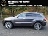 2014 Granite Crystal Metallic Jeep Grand Cherokee Limited 4x4 #87618093