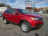 2011 Spicy Red Kia Sorento LX AWD #87618485