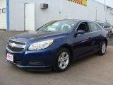 2013 Blue Topaz Metallic Chevrolet Malibu LT #87618074
