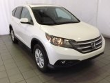 2014 White Diamond Pearl Honda CR-V EX #87617888