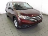2014 Basque Red Pearl II Honda CR-V LX #87617886