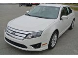 2010 White Suede Ford Fusion SEL #87618383