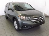 2014 Polished Metal Metallic Honda CR-V EX AWD #87617884